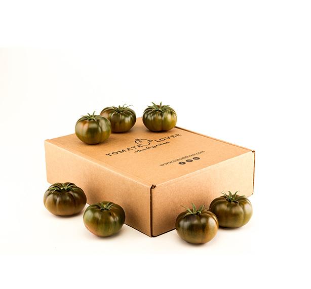 Caja de tomate raf negro Black lover