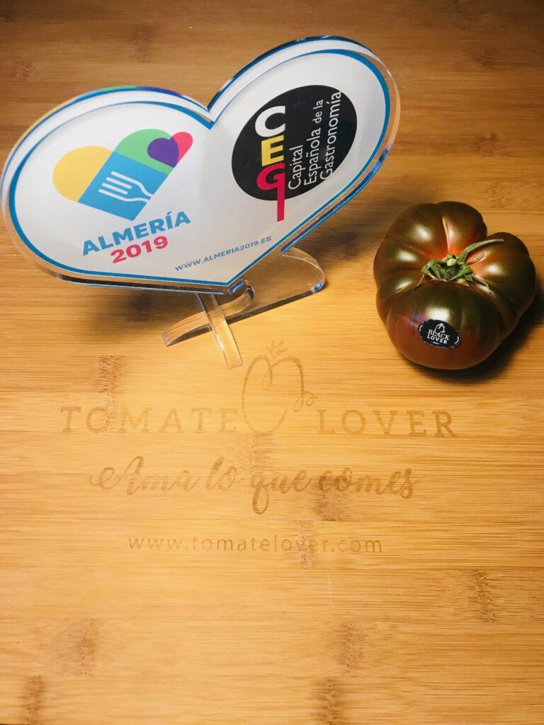 Tomatelover Tomate Lover apoya a Almería como Capital Española de la Gastronomía 2